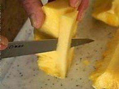 Préparer un ananas frais - Etape 10