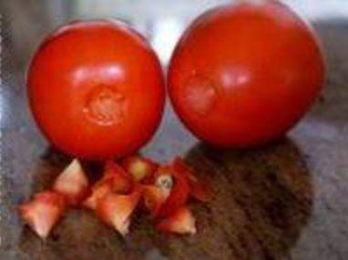 Monder une tomate - Etape 2