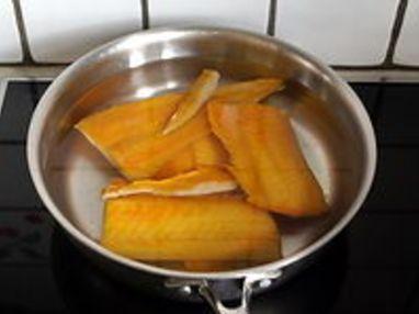 Filet de haddock poché au lait - Etape 7
