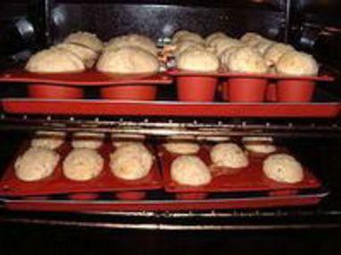 Muffins au bacon et au fromage - Etape 9