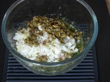 Sauce ravigote - Etape 7