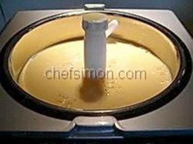 Glace vanille - Etape 8