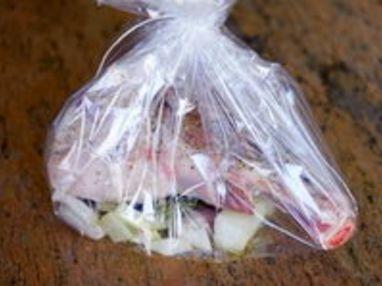 Souris d'agneau confites à l'ail - Etape 7