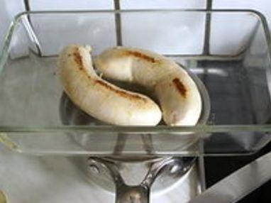 Boudin blanc aux échalotes - Etape 3