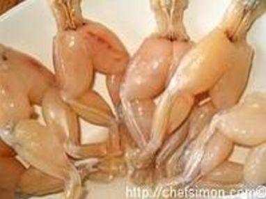 Cuisses de grenouilles sautées - Etape 1