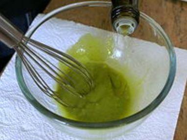 Sauce verte - Etape 2