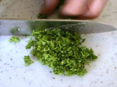 Sauce verte - Etape 5