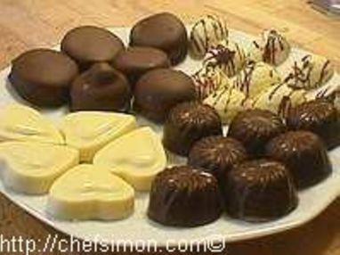 Moulage des chocolats fourrés - Etape 11