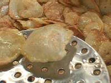 Pommes soufflées - Etape 5