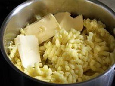 Purée de pommes de terre - Etape 2