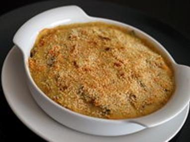 Gratin de moules au curry