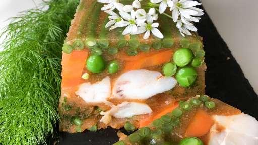 Terrine de poisson en gelée