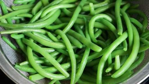 Haricots verts à l'anglaise