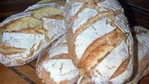 Pain au levain - réalisation et cuisson du pain