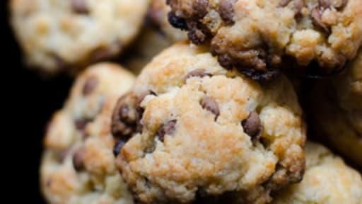 Cookies au miel et aux pépites de chocolat