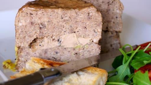 Terrine de volaille au foie gras