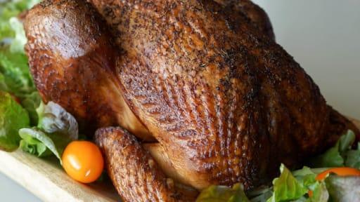 Le poulet fumé