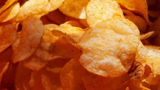 Chips au paprika et au curcuma