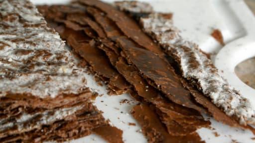 Feuilletage au chocolat : la détrempe