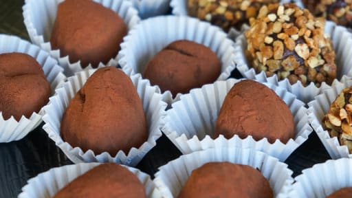 Ganache à truffes