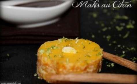 Makis au citron