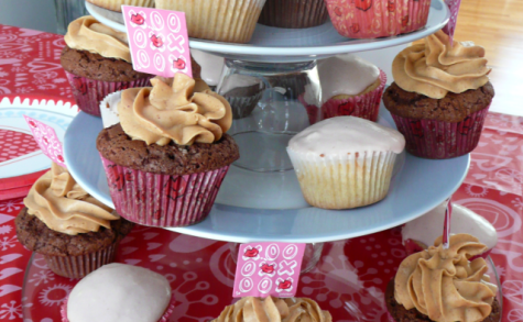 Cupcakes vanille ou chocolat