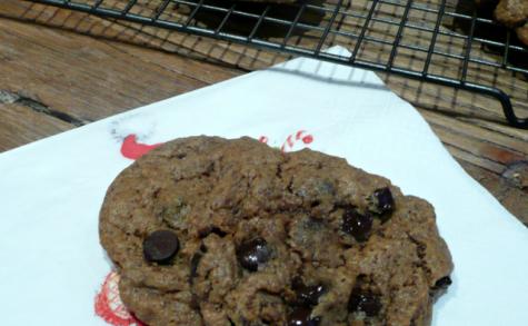Biscuits noisette-avoine-chocolat