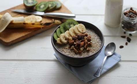 Mon quinoa porridge
