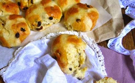 Hot Cross Buns traditionnels de Pâques