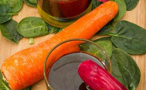 Jus de légumes (à l'extracteur de jus)