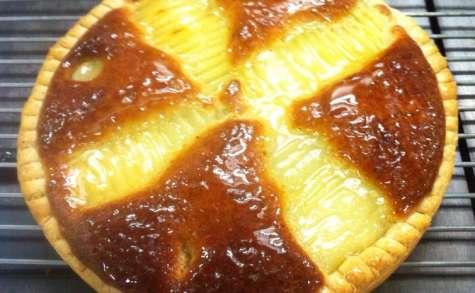 Tarte Bourdaloue ou tarte poire amandine