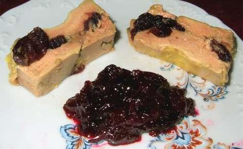 Foie gras aux cerises