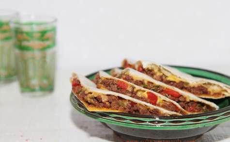 Quesadillas à la viande hachée