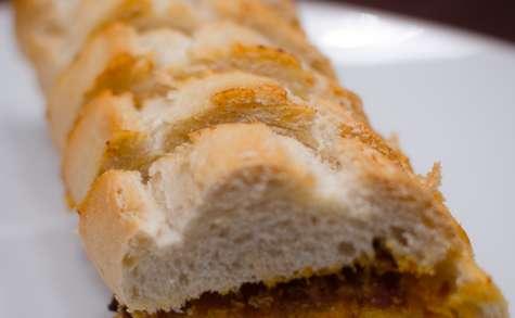 Baguette au beurre de chorizo