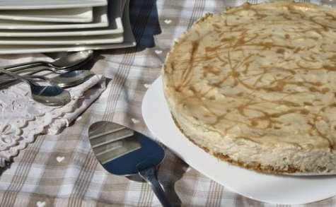 Cheesecake marbré à la confiture de lait