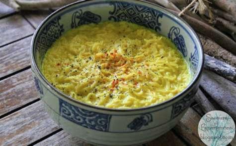 Soupe de vermicelles au lait à la mauricienne