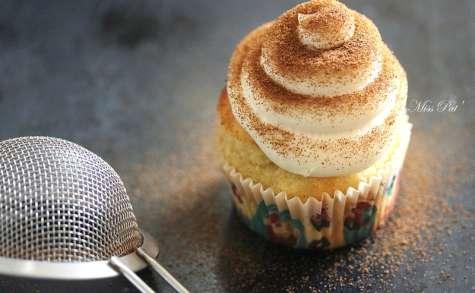 Cupcakes farine de coco et vanille