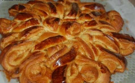 Brioche spirale infernale au caramel beurre salé