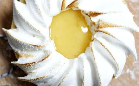 Tartelettes au citron vert meringuées