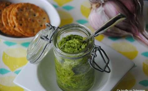 Pesto vert d'oignons nouveaux