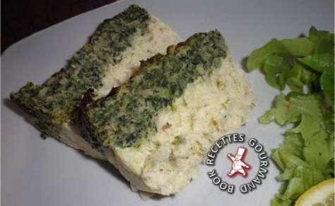 Terrine de poisson aux épinards
