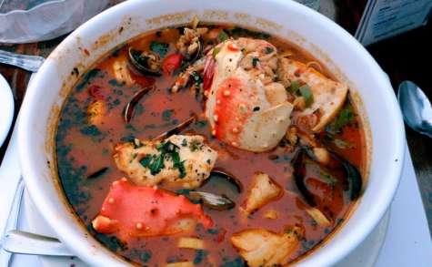 Soupe de poissons corse aziminu