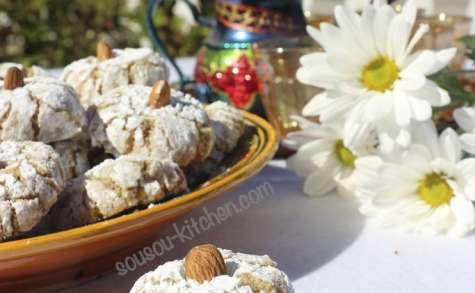 Ghriba aux noix et amandes
