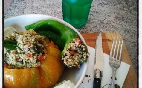 Légumes d'été farcis au taboulé