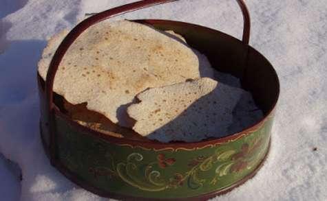 Galettes nordiques aux céréales, pain sans levain au lactosérum (Norvège)