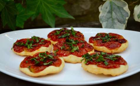 Tartelettes tatin aux tomates cerises