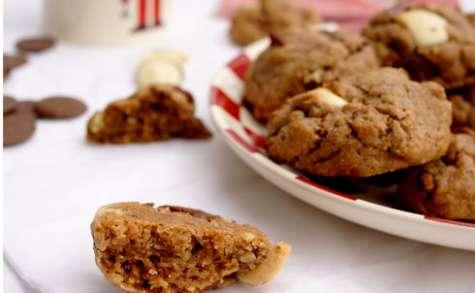 Freestyle cookies à l'épeautre, noix de pécan, noisettes