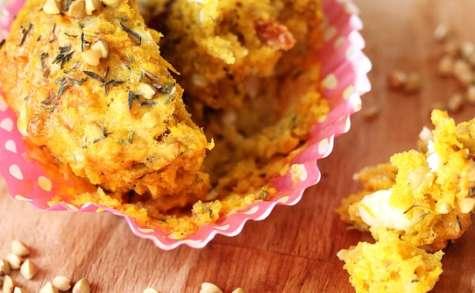 Muffins potimarron à la Provençale