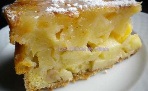 Sharlotka ou le cake aux pommes russe