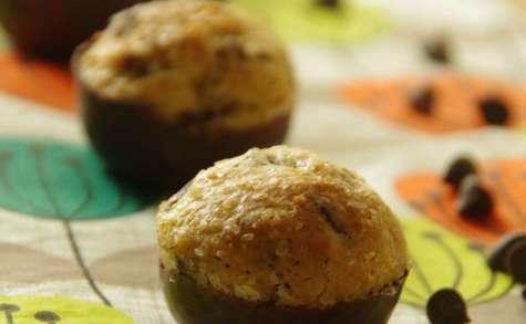 Minis cookies coque chocolat